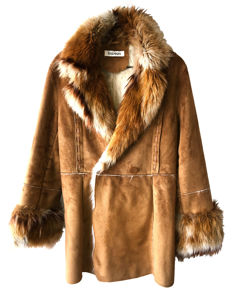 Balmain - Faux Fur Coat