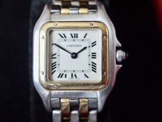 Cartier Panthére - Steel/Gold - Womens watch - Box and Certificate of authenticity
