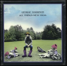 """George Harrison - 3LP Box set """"All Things Must Pass"""" - Perfect condition sealed M/M"""