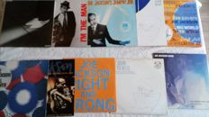 "A fantastic lot with lp's by Joe Jackson. 2 doublealbums, 2 12"", 1 ep and 5 lp's including his first 4 albums!"