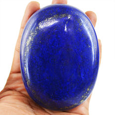 Huge Blue Lapis Lazuli Polished - Best Quality - 92x67x23 mm - 1061.00 cts