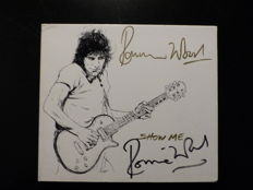 Ron Wood - autographed 2 track CD - Show Me & Breathe On Me - Cover personally signed by Ronnie Wood