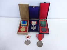Japan Military Medal of Honor, 1894-95 Sino-Japanese War Medals
