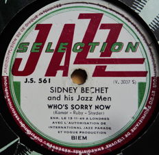 21 x Swing, Jazz and Dixie 78 rpm records