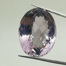 French rose amethyst of 31.29 ct