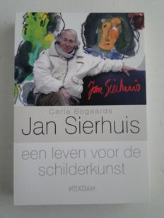 Jan Sierhuis; Lot with 4 art books - 1979 / 2006