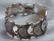 Silver bracelet with pigeons – BAS (Blachian Antik Schmuck) Germany