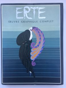 Erté. Complete graphic works - preface of Jack Salomon - 1982