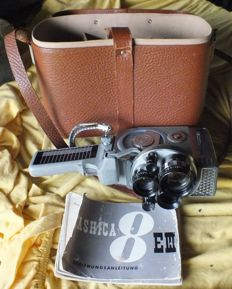 Old film camera YASHICA 8 - E III from 1959