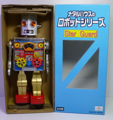 Metalhouse, Japan - Height 29 cm - Star Guard Robot