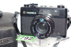Special Yashica Electro 35 GX camera 1975 with yashinon DX 1.7 45mm lens