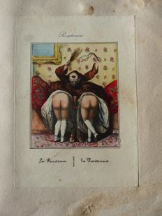 Album with erotic prints - no date (19th century)