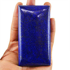 Huge Blue Lapis Lazuli Polished - Best Quality - 100x52x15 mm - 1041.50 cts