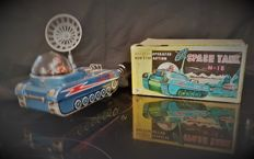 Modern Toys, Japan - Length 30 cm. - Space Robot Tank 1960 Tin Litho