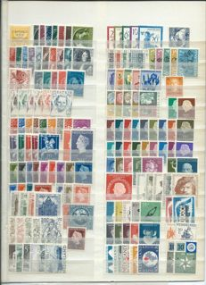 Netherlands 1943/2000 - Collection of 404 different emissions and 76 blocks/sheets