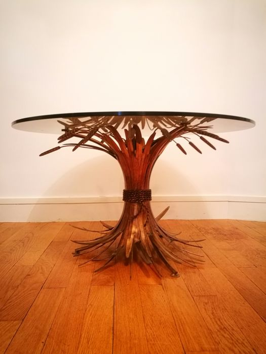 """Robert Goossens – Coco Chanel Table """"Sheaf of Wheat"""""""