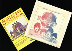 """The Beatles – Cinelogue From The Original Soundtrack """"Yellow Submarine"""" + Yellow Submarine special from a Dutch Beatles magazine"""