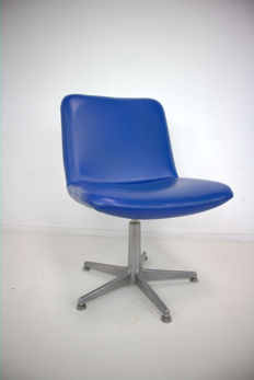 Geoffrey D`Harcourt for Artifort - Desk chair with faux leather upholstery