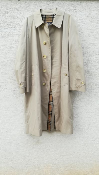burberry trench vintage catawiki