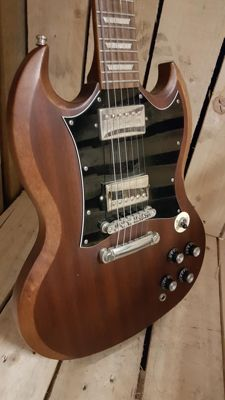 Epiphone sg 400 worn brown - China - 2009