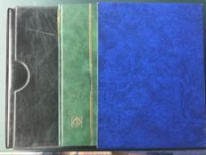 Portugal, Madeira and Azores - Trade stock blocks, booklets and sheetlets in a ring binder and two stock books