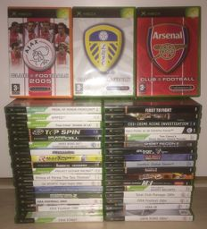 Lot of 37 Xbox games (Headhunter Redemption, Prince of Persia, Splinter Cell, Ghost Recon and more)