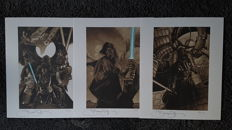 Star wars Portfolio Art Print -Simone Bianchi-Signed- Limited Edition #77  of 90