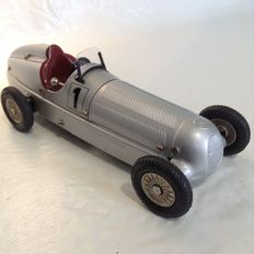 Märklin, Germany - L. 18 - Mercedes Benz 'Silver Arrow' racing car, 1990s