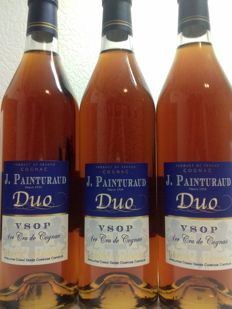 J. Painturaud Cognac VSOP Duo - 3 bottles