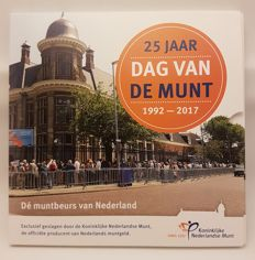 The Netherlands - Year pack 2017 'Dag van de Munt' including silver medal