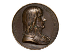 France - 'Bonaparte General in Chief - Napoleon in Egypt 1798' by A. Bovy - copper