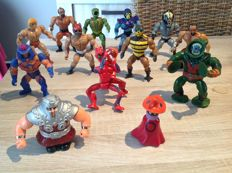 Masters of the universe- vintage toys 1981 / 1984 - matel france, malasia, taiwan