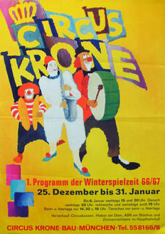 Anonymous - Circus Krone - 1966