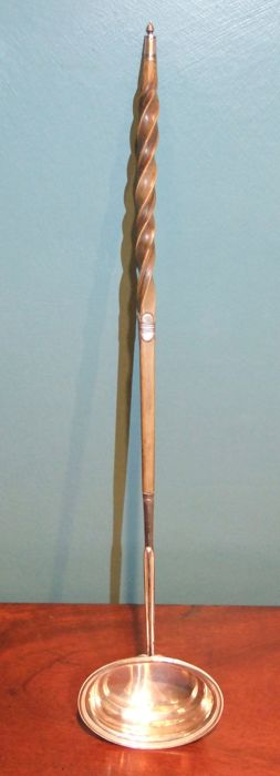 George III Silver and Horn Punch Ladle - London - 1813