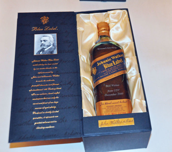 johnnie walker blue label scotch whisky catawiki. Black Bedroom Furniture Sets. Home Design Ideas
