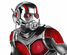 Septiembre, Diego - Original Drawing - Ant-Man