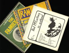 """Lot of three Paul McCartney albums including """"Paul McCartney in Scotland"""", """"Ram"""" and """"The Family way"""""""