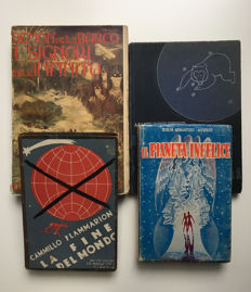 Science fiction; 4 novels - 1894/1956