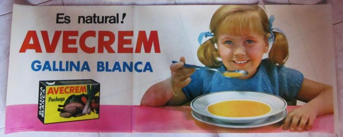 2 x advertising - Gallina Blanca - c. 1960
