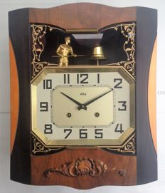 Automate ODO wall clock - Made in France - Period: 1940/50