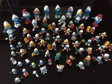 Large collection of Smurfs starting at the 1960s