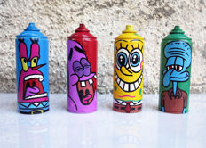 Mr. Funky - Streetart is fantastic! Spongecans