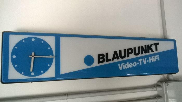 BLAUPUNKT lighted sign - 1970s