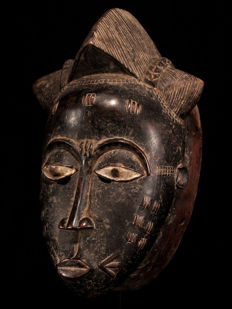Maiden Mask - BAULE - Ivory Coast