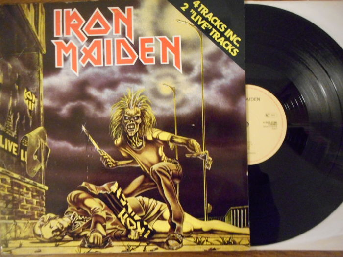 Iron Maiden / Nice Lot of 10 x 12 inch Pictures Sleeves Records