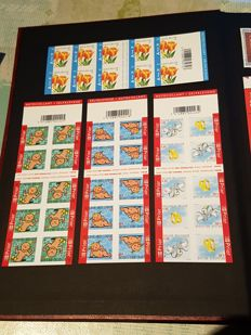 Belgium 2005 - Stamps and booklets with the commemorative card and illustrated postcards