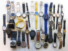 Collection of nice watches: Seiko - Swatch -  Casio - Adidas - Fossil