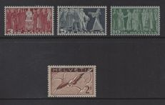 Switzerland 1930/1938- Selection - Michel 245x and 328/330w