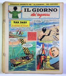 Il Giorno dei ragazzi - nos. 1/46 complete, missing only nos. 31 and 44 - 1962