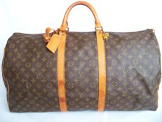 Louis Vuitton Keepall 60 + LV accessories  + LV Padlock (322) with key - *No Minimum Price*